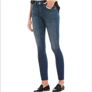 Lucky Brand Bridgette Skinny Raw Hem Jeans Size 10